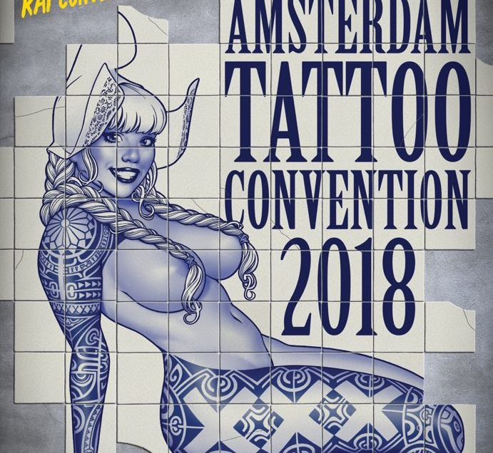 14 International Amsterdam Tattoo Convention 2018