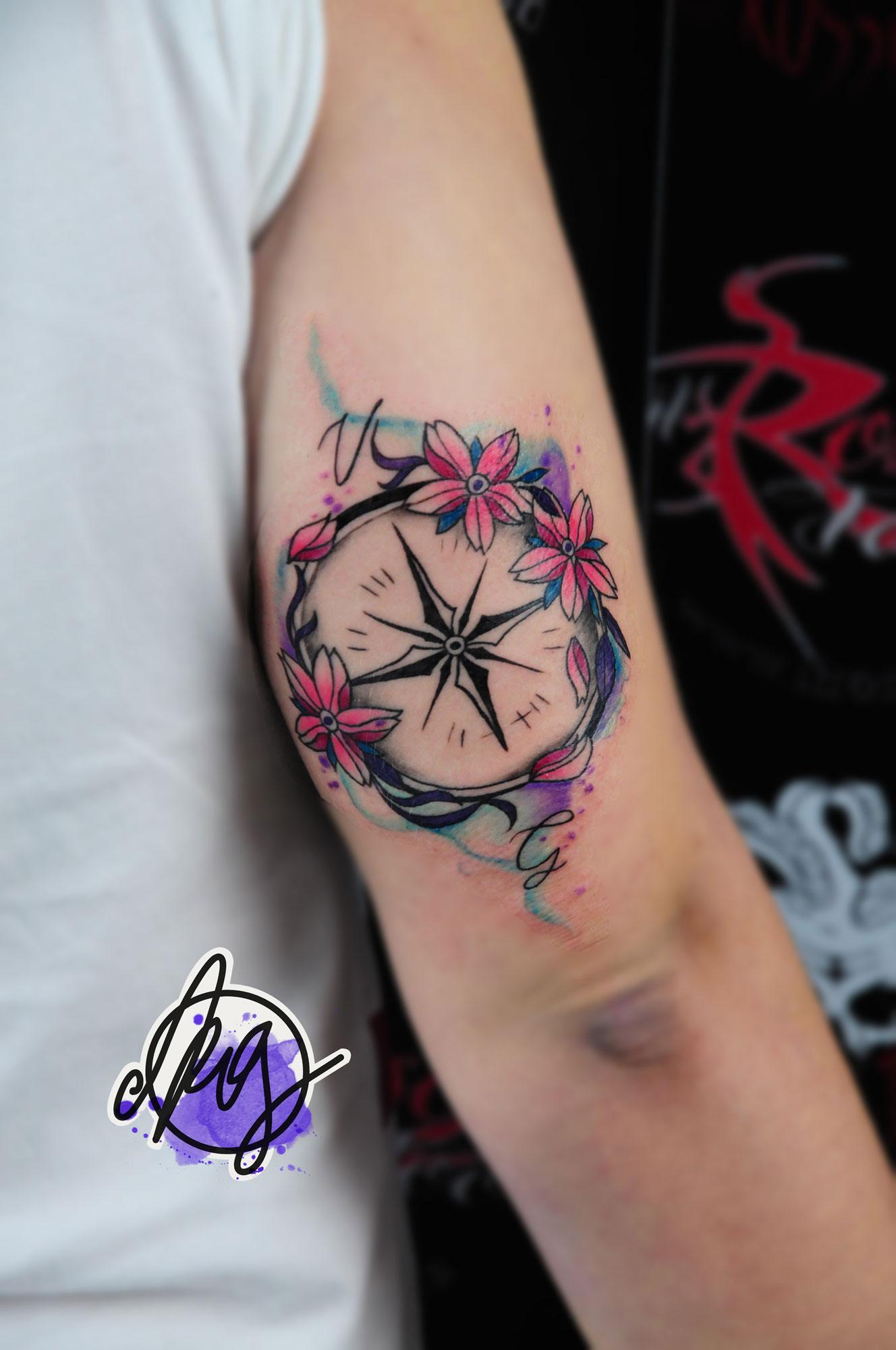 Greta Il Rosso Tattoo
